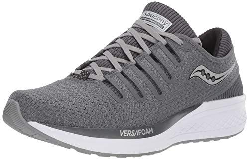 Saucony Men's VERSAFOAM Extol Road Running Shoe, Grey, 13 M US
