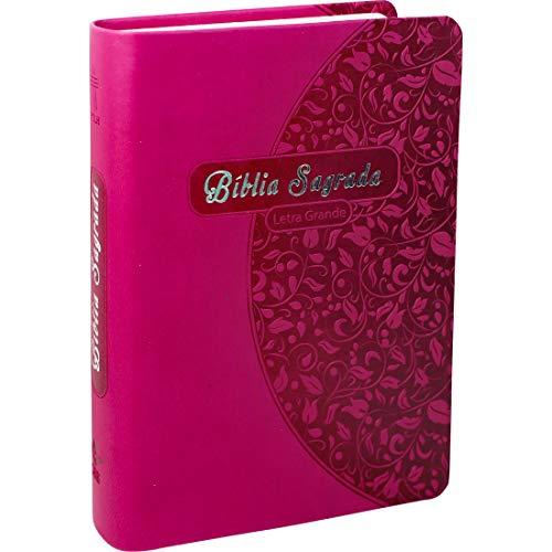 Bíblia Sagrada Letra Grande - Couro sintético Pink: Nova Tradução na Linguagem de Hoje (NTLH)