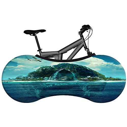 Fiets Cover Universeel, Indoor Fiets Cover Mountainbike, Stofdichte Opbergtas voor Mountainbike - Landscape Sky