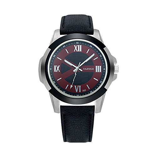 DAZHE Relojes Militares Relojes de Pulsera de cuar 383 yazole Sports Watch Reloj para Hombre Reloj Reloj (Color : 2)