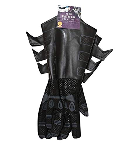 Rubies Costume Co Batman The Dark Knight Child Gauntlet Gloves For Batman (accesorio de disfraz)