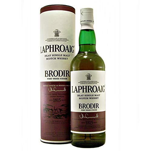 Laphroaig Brodir Port Wood Finish Whisky (1 x 0.7 l)