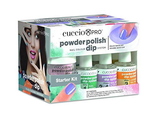 Cuccio Pro Powder Polish Nail Colour Dip System Starter Kit the new way to give salon and spa clients up to 14 days of professional nail