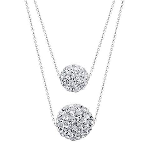 Pendientes de Plata con Cristales de Swarovski - Regalos Originales para Mujer - Dia de La Madre Regalos Originales