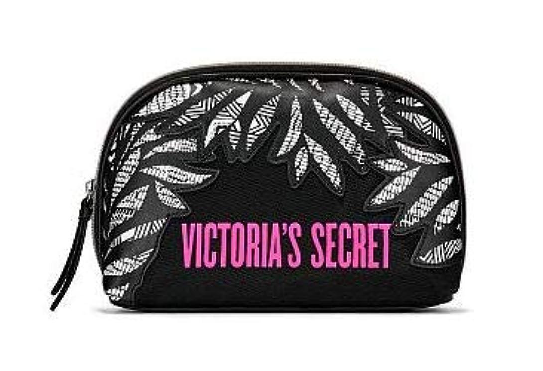ガレージ機関車着替えるVICTORIA'S SECRET (ヴィクトリアシークレット) ポーチ スモールサイズ Graphic Blooms Glam Bag [並行輸入品]