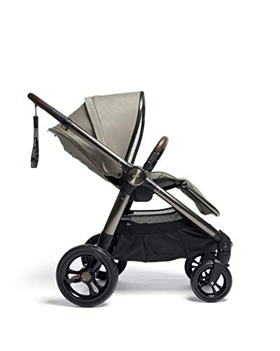 Mamas & Papas Ocarro All Terrain Puschair, Buggy, Pram, One Hand Fold, Puncture-Proof Tyres, Extendable Hood & Adjustable Lie Flat Seat - Iconic, 16.15 kg Mamas & Papas Robust support: dual suspension for all-terrains Ultimate comfort: large, padded seat One-hand fold: quick, easy and compact 2