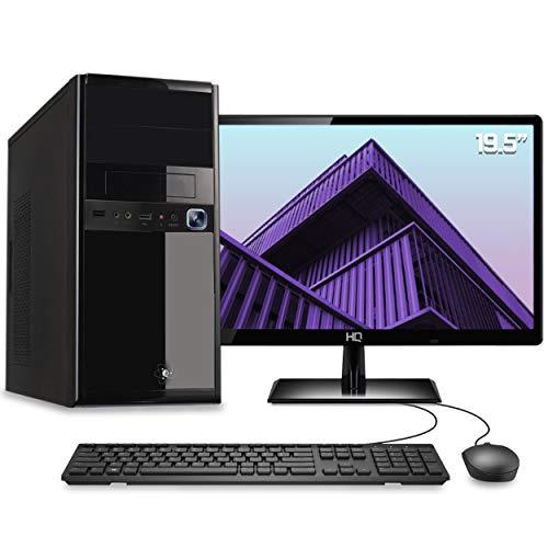 """Computador Desktop Completo Quantum Intel Core i3 6GB HD 500GB Monitor 19.5"""" HDMI LED com mouse e teclado"""