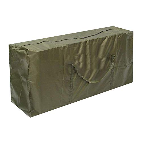 Bolsa de Almacenamiento Grande Bolsa Plegables para Ropa de Tela Oxford 210D Impermeable Organizador de Viaje para Acampar Funda de Transporte Ligera con Cremallera (122*39*55cm)