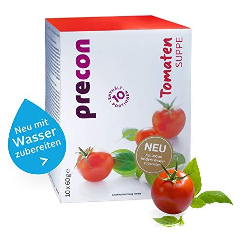 Precon BCM Diät Suppe zum Abnehmen – Tomatensuppe – 10 Portionen (600 g) – Mahlzeitenersatz für eine gewichtskontrollierende Ernährung