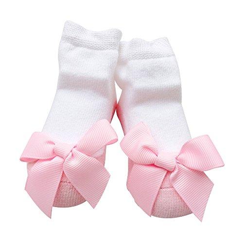 Baby Socken Mädchen Neugeborene Säugling Sock Kleinkind Fuß Wear 1 Jahr alt (0-12 Monate, fen-luo)