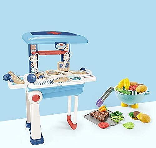 LLRDIAN Die Küche der Kinder spielt das Kombinationsgemüse-Jungen- und mädchenbaby, das Reissimulations-Küchensatz kocht (Farbe   A2)