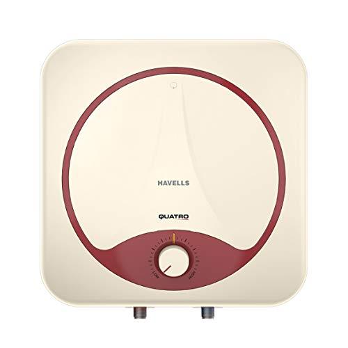 Havells Quatro 25-Litre Storage Water Heater (Ivory Red)