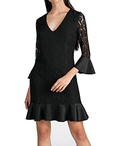 Guess Tala Dress Vestito, Nero (Jet Black A996 JBLK), X-Small (Taglia Produttore:XS) Donna