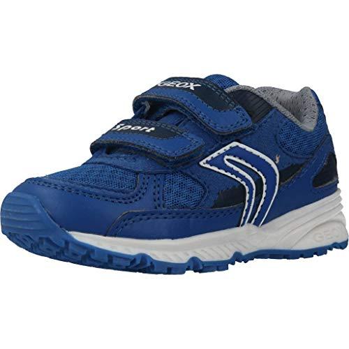 Geox Geox Jungen J Bernie C Sneaker, Blau (Royal C4011), 37 EU