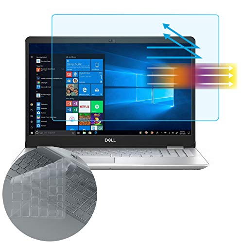 Screen Protector Keyboard Cover for Dell Inspiron 15 3000 5000 7000 15.6