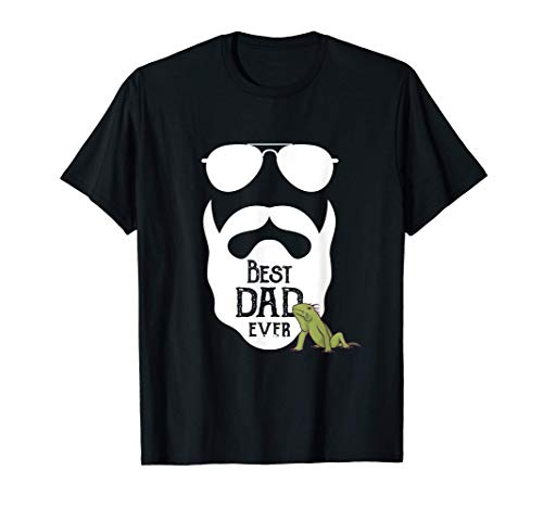 Best Bearded Dragon Dad Ever - Bester Bartagame Papa T-Shirt