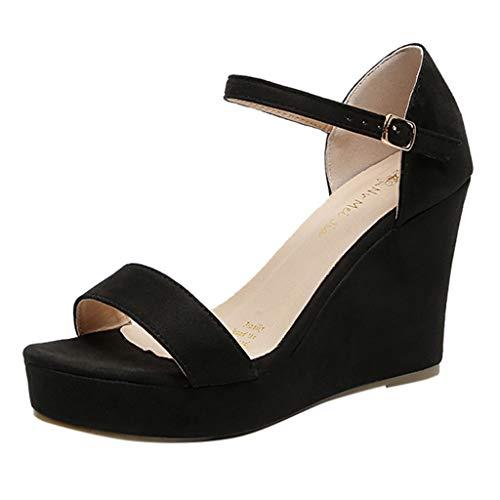 Vectry Zapatos De Mujer Sandalias Mujer Tacon Chanclas Mujer Baratas Zapatos Mujer Tacon Fiesta Baratos Zapatos Mujer Planos Zapato Mujer Verano Zapatos Mujer Casual Negro