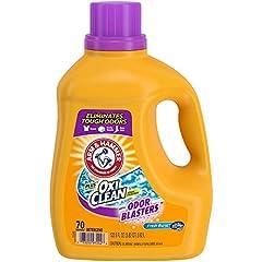 OdorBlasterseliminates tough odors! PowersoutdirtandodorsusingthepowerofOxiCleanStainFightersandARM&HAMMER freshness Speciallyformulatedforbodyodor,sweatandmustytowelodors PoweredbyOxiClean,America's#1StainFighterAddi...