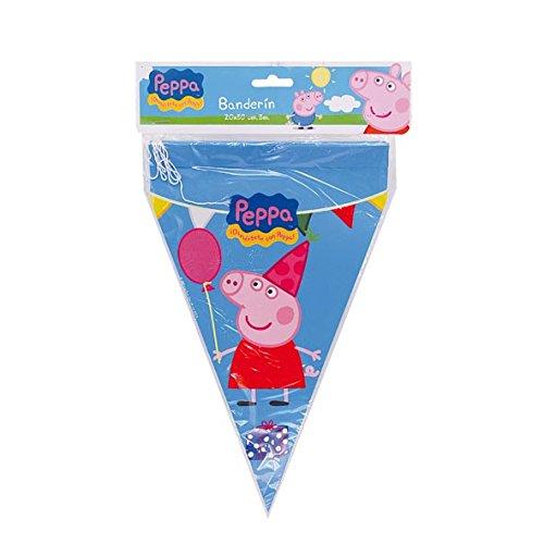 Peppa Pig - Banderín (Verbetena 016000776)