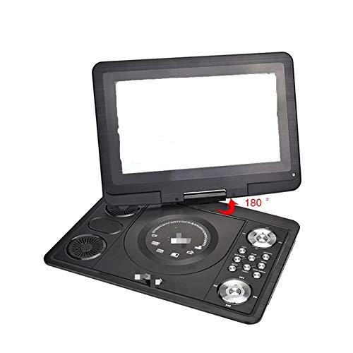 YAOXINGHUA Reproductor de DVD TV portátil de 13,9 Pulgadas con TV Digital Pantalla LCD de Inicio Ajuste para Coche USB Game FM DVD VCD CD MP3 Annoolog Televisión