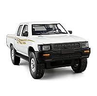 ダイキャストカー 1/32に適用するトヨタハイラックスピックアップトラックダイキャストメタルモデルカートイサウンドライト付きキッズギフトボックスV205付き