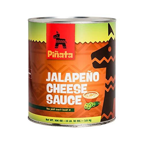 Pinata Jalapenio Cheese Sauce   3000g   Tex-Mex-Küche   mittelscharf   Kombination aus Cheddar-Käse und Jalapeno-Chilis   für warme und kalte Speisen   Hervorragender Geschmack