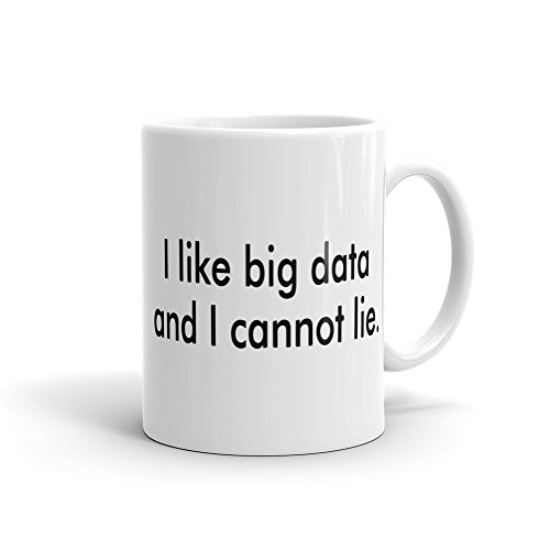 Lplpol I Like Big Data Tasse, Cloud-Becher, Startup-Tasse, Startup-Geschenk für Ingenieure, lustige Datenanalysten-Tasse für Startup-Tasse, Idee #A408, große Tasse 425 ml