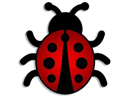 LPF USA Magnet Lady Bug Shaped Magnetic Sticker (Cute Ladybug Decal)