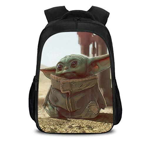 FY-NX Estudiante Mochila Baby Yoda, Escuela Mochila para
