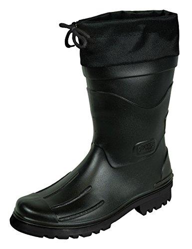 MADSea Herren Jungen Gummistiefel Nils-Hannes Halbschaft Regenstiefel schwarz, Farbe:schwarz, Größe:43 EU