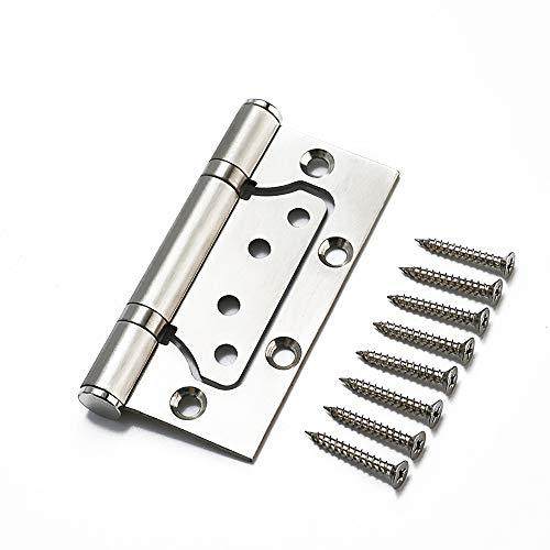 5 Zoll Qrity 4x Edelstahl Scharniere 125mm Türband Türscharnier Edelstahlscharniere Beschlag, Dicke 2.8 mm