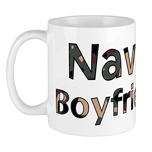 CafePress - Navy Boyfriend Camo Mug - Unique Coffee Mug, Coffee Cup, Tea...
