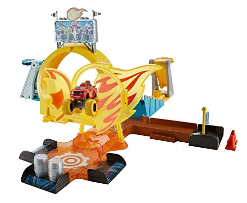 Mattel GFC08 Blaze and The Monster Machines Spielzeug, Mehrfarbig