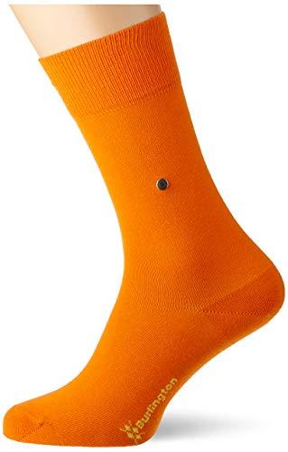 Burlington Herren Lord M SO Socken, orange (flash orange 8036), 40-46