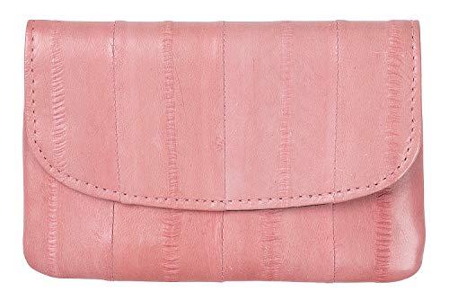 Becksöndergaard Geldbörse Damen Handy Candy Floss Portemonnaie Kleingeld Karten Pink Handlich 100% Aalleder - 100007-379