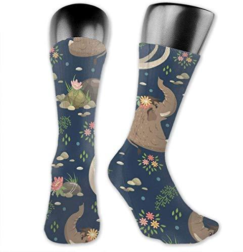 Mammoths Compression Socks Athletic Socks for Women & Men-Best Medical, Nursing, Running, Flight Travel, Pregnant