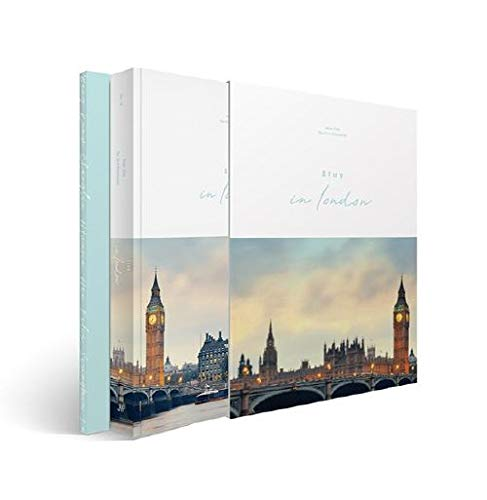 STRAY KIDS First Photobook - [ STAY IN LONDON ] CD + Photobook + Making DVD + Postcard Set + Folded Poster(On Pack) + Photocard + Paper Holder + FREE GIFT
