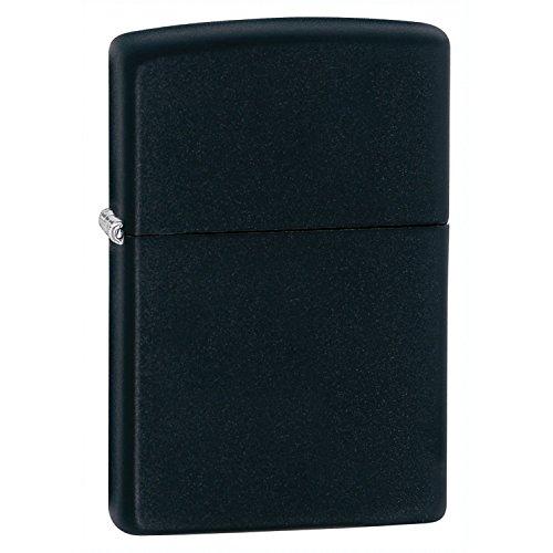 Zippo Pocket Lighter, Black Matte