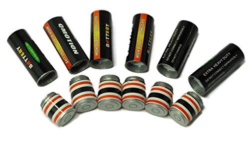 6 AA Battery Secret Stash Diversion Safe / Pill Case
