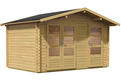 Unbekannt Karibu Woodfeeling Gartenhaus Radur 0 28 mm 2-Raum-Haus