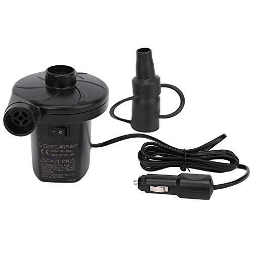 Bomba de aire eléctrica, fácil de usar, bomba de CC para coche, bomba de aire portátil para acampar para piscinas, bañera, barco,(Vehicle DC pump)
