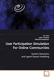 User Participation Simulation for Online Communities
