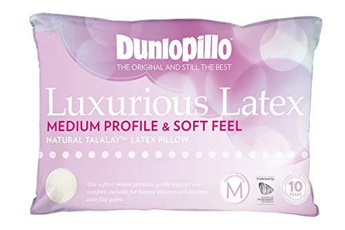 Dunlopillo Luxurious Latex Medium Profile Pillow