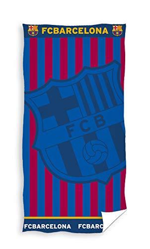 FC Barcelona 100% algodón Jaquard Toalla de baño 85 x 160 cm FCB171122