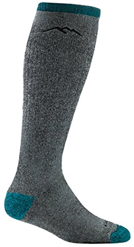 DARN TOUGH (Style 1954) Women's Mountaineering Hike/Trek Sock - Midnight, Medium Mississippi