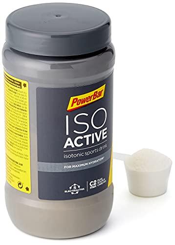 PowerBar Isoactive Lemon 600g - Bevanda Sportiva Isotonica - 5 Elettroliti + C2MAX