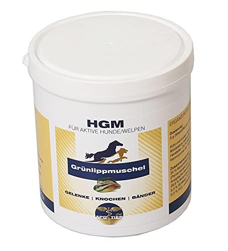 hochwertiges Premium Grünlippmuschel Pulver; KEIN Extrakt, Daher etwas teurer/aktiver Hund humpelt manchmal/empfohlen von Dr. med. Vet. Knoop/Gelenk Pulver/bei starker Belastung, 500g