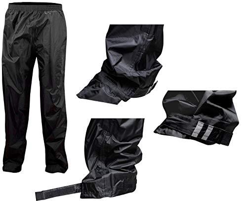 Ralka SR043ND1 Pantalon de Pluie pour Enfant Noir Taille 140 cm