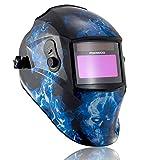FOOWOO Auto-darkening Welding Helmet Solar Powered...