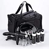 Naked Sun Fascination Spray Tanning Machine with Honey Glow Tanning Solutions and Pro Tech Duffel Bundle (5 Items)